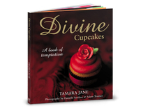 Divine Cupcakes cookbook - Book design and layout