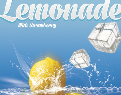 Lemonade Flyers with 3 Flavor