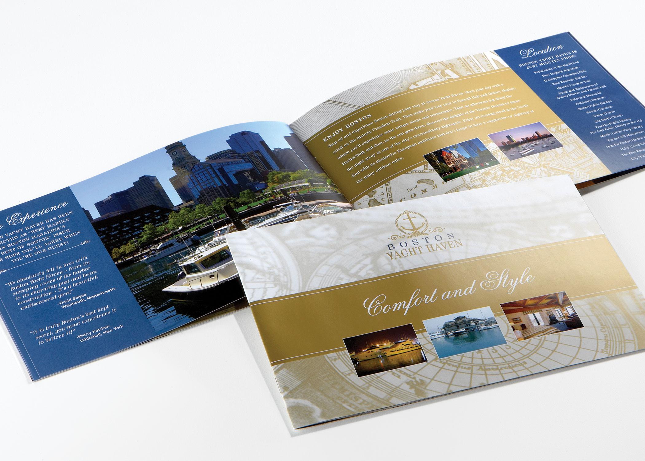 Brand Identity Design: Boston Yacht Haven
