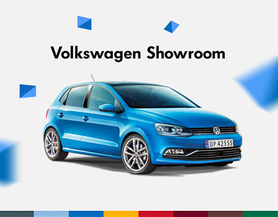 Volkswagen Showroom website