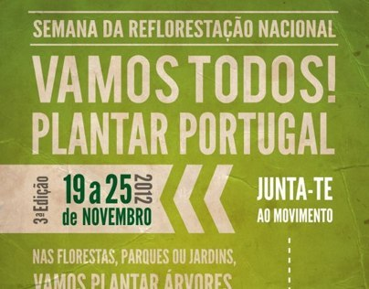 PLANTAR PORTUGAL - cartazes