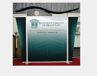 ACHC Tradeshow Display