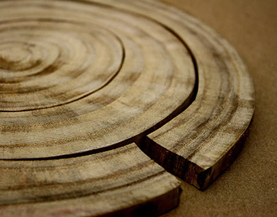 TREE RING MAT