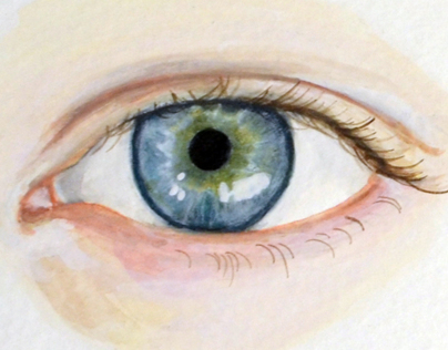 Eye Portrait Paintings 2 - Watercolor