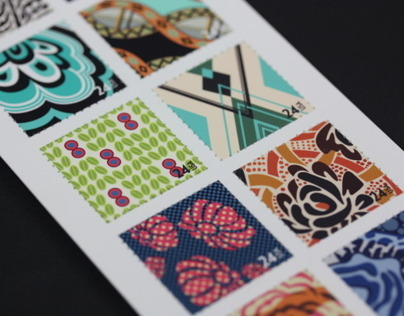 Anna Sui Stamp Collection