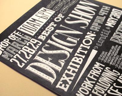 Best of Design Show Poster