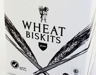 Pams Wheat Biskits