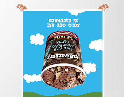 Ben & Jerrys Billboard: good melting