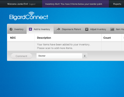 Eligard Connect Web App
