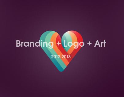 Branding works 2012-2013.