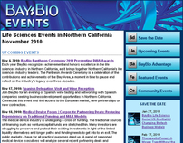 BayBio Events E-Mail Blast