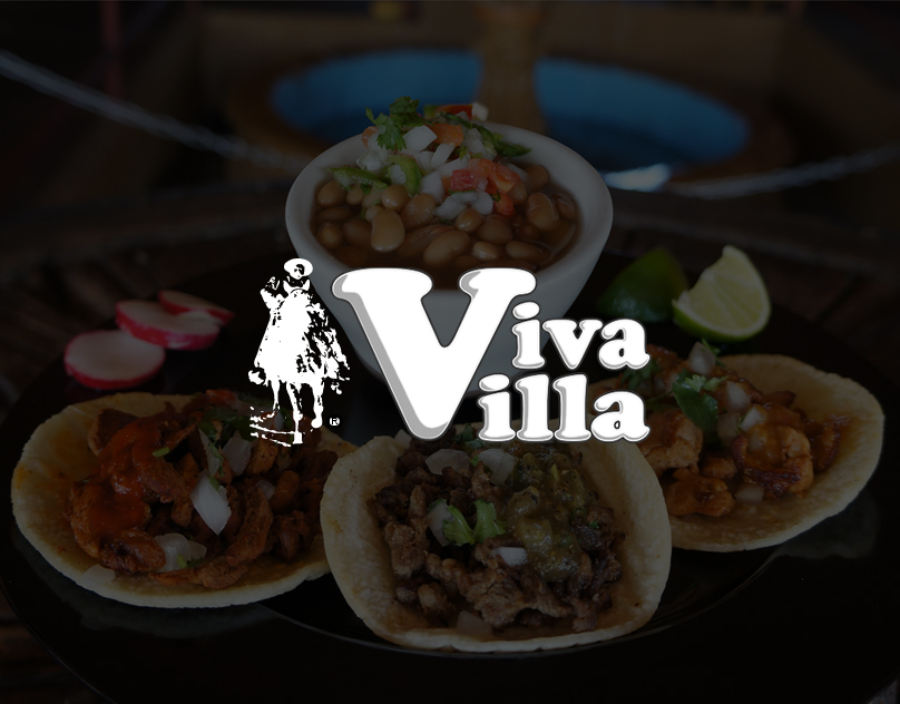 Viva Villa Taquería Website & Mobile Web