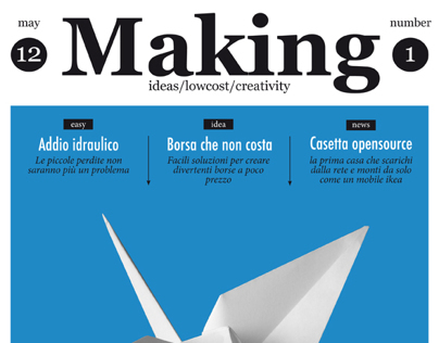 """MAKING"" / Marco Zagaria"