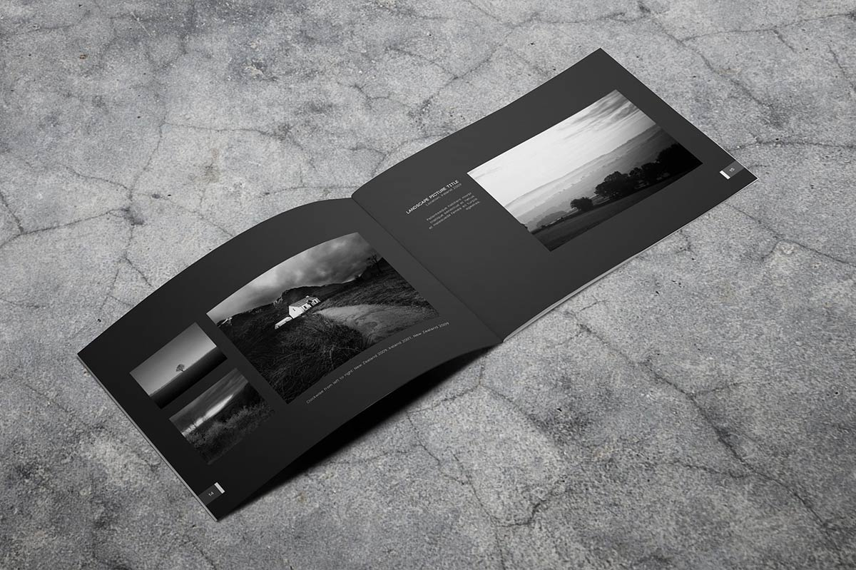 40 Page Minimal - Photography Portfolio Book
