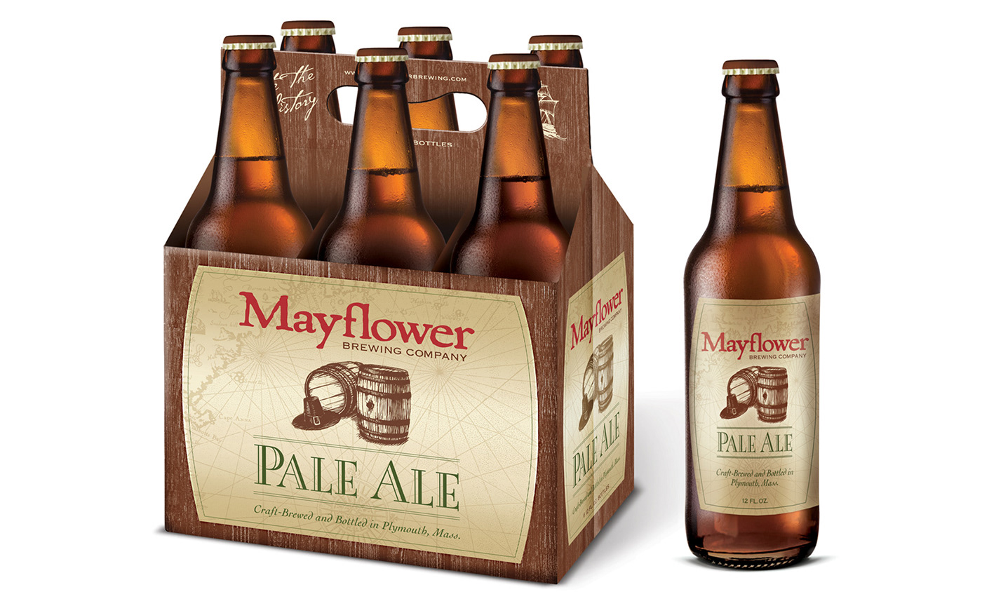 Brand Identity Design: Mayflower Brewing