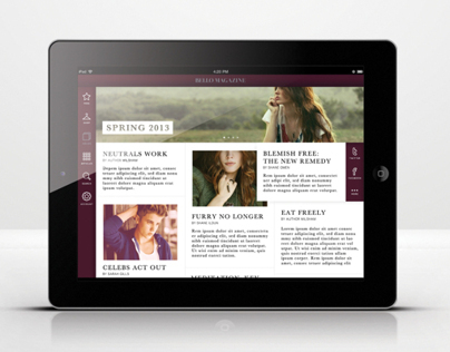 Lifestyle Magazine App