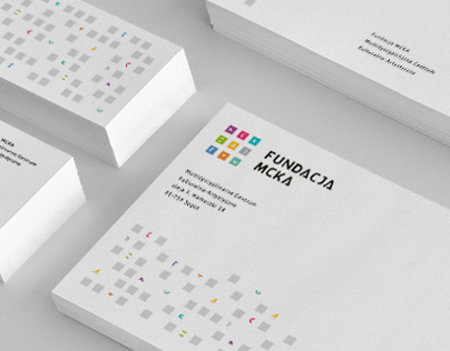 Fundacja MCKA / MCKA Foundation - Visual Identity