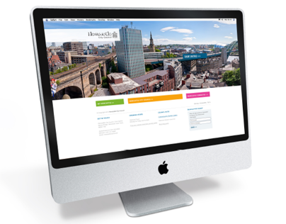 Newcastle City Council - Website design Big Idea