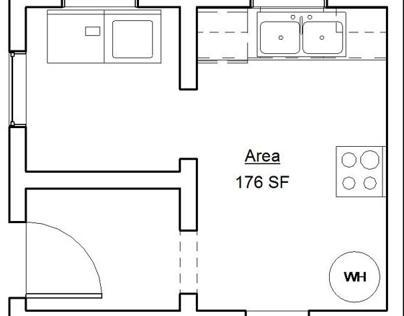 Space Planning for Small Kitchen
