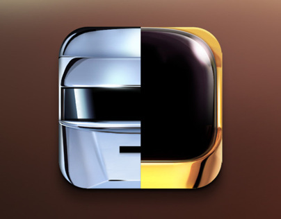 Daft Punk Random Access Memories based App icon