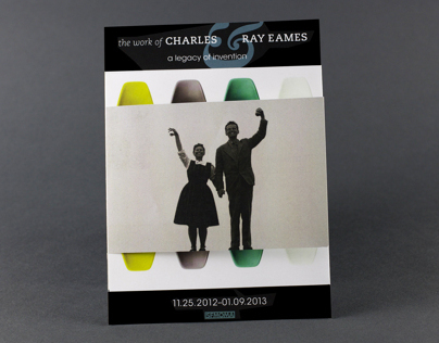 SFMOMA Brochure: Charles and Ray Eames