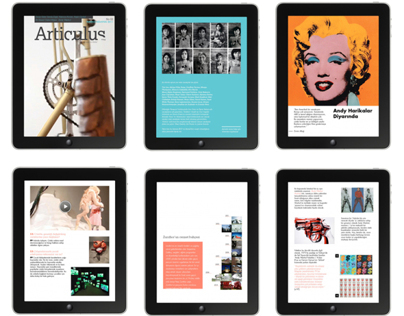 Tablet Magazine Design