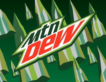Mountain Dew animated logo