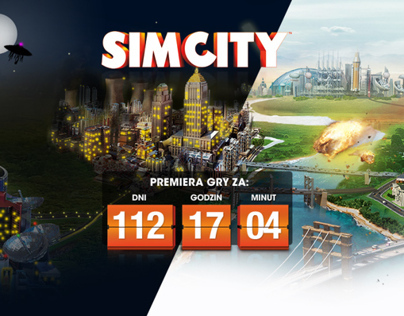 Simcity Landing Page