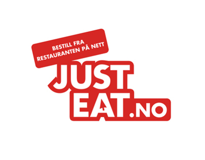 Menu design for Just-Eat Norway