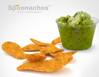 Spoonachos™ - Spoon Shaped Nachos
