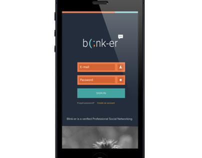 Blink-er Professional Social Networking