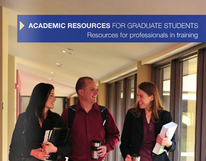 Bifold Brochure for Academic Resources