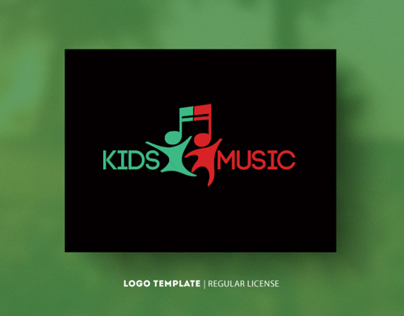 Kids Music | Template Logo $30