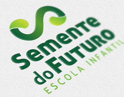 Identidade Visual Semente do Futuro - Escola Infantil