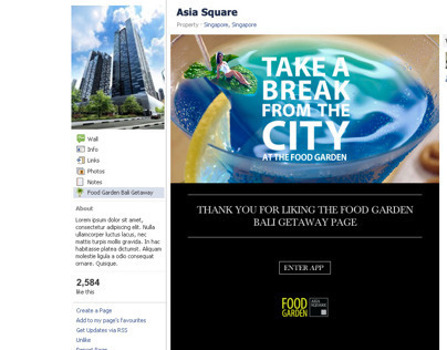 Asia Square - Take a Break in the City