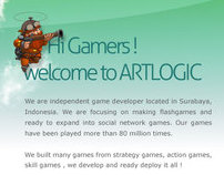 Artlogic Games Website