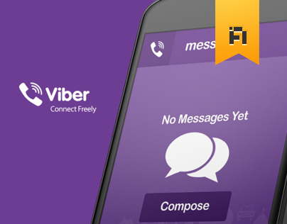 Viber Android app re-design