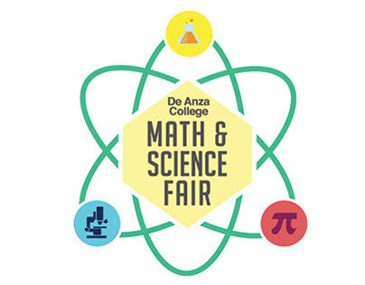 Logo -- De Anza College Math & Science Fair