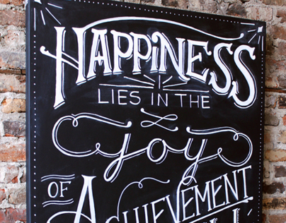 Happiness and Achievement