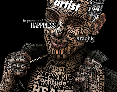 Typographical Portrait