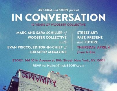 Juxtapoz & Wooster Collective at STORY, NY