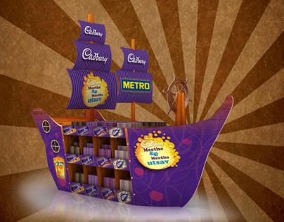 Cadbury Ship display