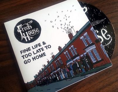 Fred's House 'Fine Life' Single Covers