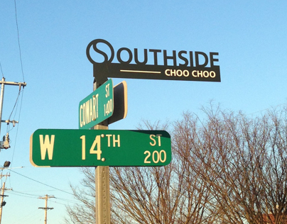 Southside Neighborhood Street Signs