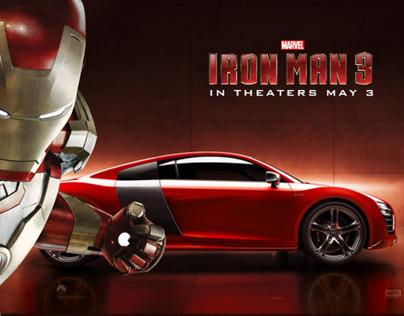 Iron Man 3 - Audi R8 e-tron