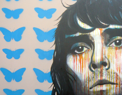 Ian Brown Painting