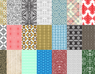 A Month of Pattern Making