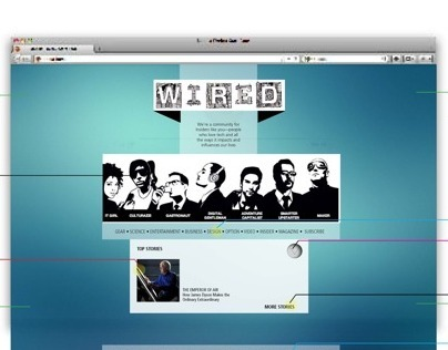 Wired Redesign
