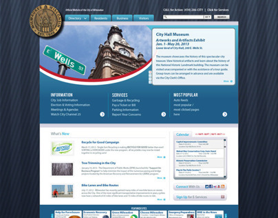 City Website Redesign Project