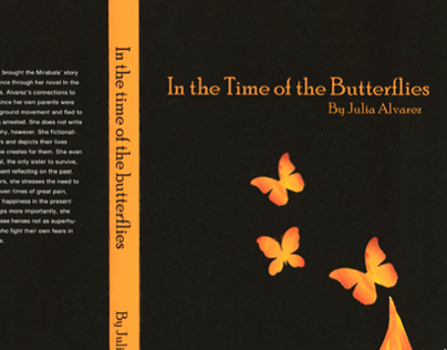 Book Cover Design: In The Time of the Butterflies